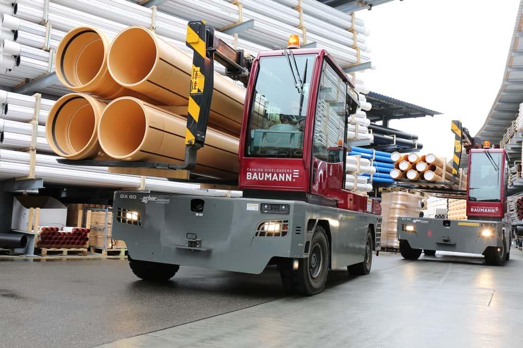 Les GX font le travail chez une grande entreprise suisse de plasturgie